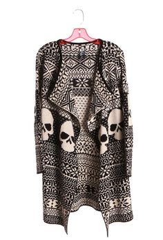 Skulls:  Jacket with #skulls, Iron Fist at FETISH.
