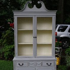 my exact china cabinet..looks sooo good painted!