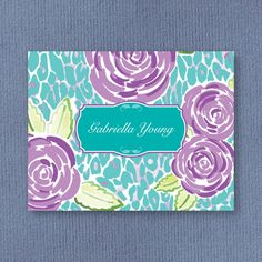 Gabriella Notes from American Stationery