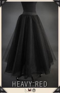 LACIVIOUS DARKNESS GOTHIC TULLE SKIRT