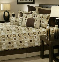 Dress Your Bed In Style With The Striking Sherry Kline Metro Comforter Set