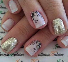 Pedicure Nail Art, Toe Nail Art, Diy Nails, Simple Nail Art Designs, Nail Designs, Light Nails, French Nail Art, Magic Nails, Flower Nail Art