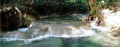 Mayfield Falls Jamaica - Two beautiful waterfalls and 21 natural pools. http://www.jamaicatravelsaver.com/deal/mayfield-falls-mineral-springs/