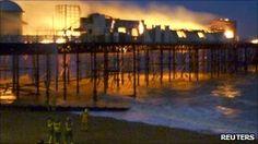 Hastings Pier alight