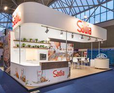 Sadia / Horecava Exhibition Booth, Booth Design, Exhibitions, Loft, Design Ideas, App, Furniture, Home Decor, Projects