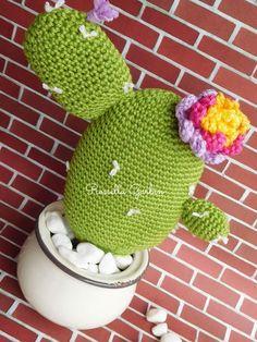 Tutorial cactus primavera crochet