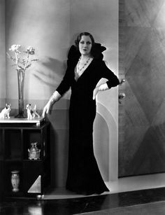 Portrait of Gloria Swanson in Indiscreet directed by Leo McCarey, 1931