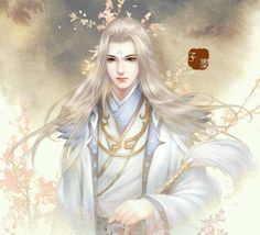 Costume demon handsome guy ancient wind beautiful man old man anime beauty less . Cosplay Lindo, Character Art, Character Design, Fantasy Art Men, Realistic Paintings, Wow Art, China Art, Creative Pictures, Orient