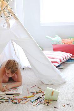 Kiddo room teepee