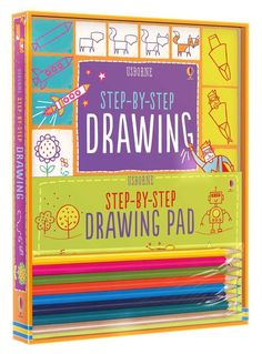 Step-by-step drawing kit