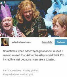 Harry Potter Arthur Weasley