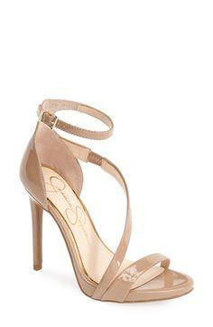 Jessica Simpson 'Rayli' Patent Ankle Strap Sandal (Women) | Nordstrom