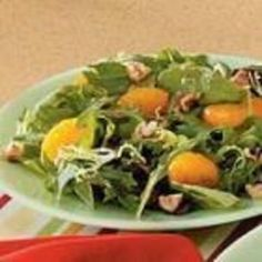 Mandarin Mixed Green Salad  #