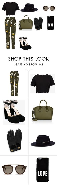 Sem título #318 by olivemontgomerie on Polyvore featuring moda, Ted Baker, River Island, Jimmy Choo, Givenchy, Larose, Mulberry and STELLA McCARTNEY