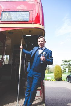 Stylish groom. Photography by mariewoottonphotography.co.uk