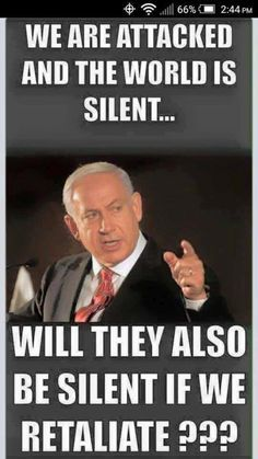 As long as Israel doesn't retaliate the world is silent. They don't care that Jews are being attacked daily. But when Israel strikes back the whole world is angry! #doublestandards #hypocrites