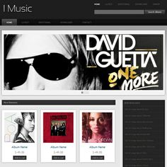 9 Best Music Web Templates Responsive Mobile Web Templates Images