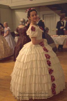 Quinn Burgess' 1860 gown, just beautiful