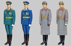 Soviet Army Uniforms 37 by Peterhoff3 on DeviantArt