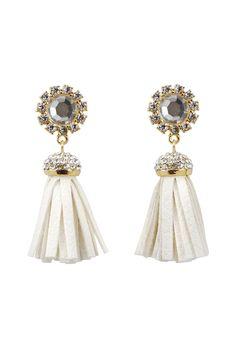 Sasha Gold Fringe Earrings Fringe Earrings, Drop Earrings, Cocoa, Gold, Accessories, Jewelry, Jewellery Making, Jewlery, Drop Earring