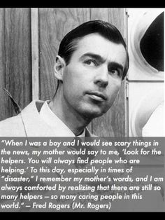 Thank you Mr Rogers