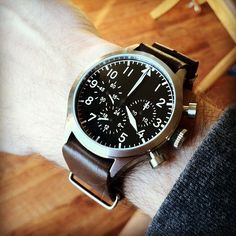 Ticino Big Pilot Chronograph