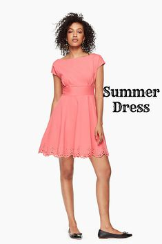 Summer Dress from Kate Spade NY! Summer Style by Kate Spade! #clothing #clothes #ad #Shopping #shoponline