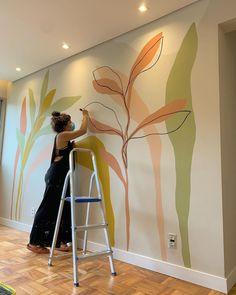 Door Murals, Bedroom Murals, Mural Wall Art, Wall Painting Decor, House Painting, Wall Drawing, Home Wallpaper, Wall Design, Decoration