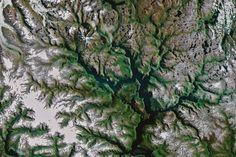 Noruega desde el espacio