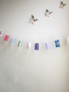 Vintage Fabric Fairy Lights - Radiance