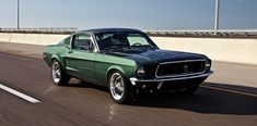 1968 Mustang Gt, Mustang Ford, Ford Mustangs, Steve Mcqueen Movies, American Racing Wheels, Chevy Muscle Cars, Car Ford, Hot Cars, Concept Cars