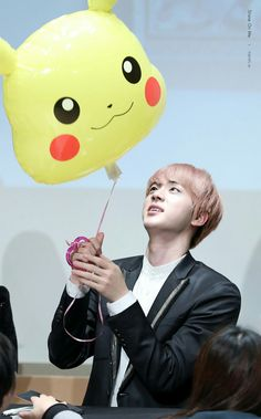 Jin ❤ BTS at the Gimpo Fansign #BTS #방탄소년단