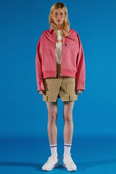 ADERerror Spring/Summer16 Collection 'A PLAN' lookbook image Contemporary Minimal Color Graphic Slogan 'But near missed things' www.adererror.com Nerd Fashion, Fashion Outfits, Womens Fashion, E Sport, Korean Brands, Geek Chic, Fall Trends, Beautiful Outfits, Ader Error