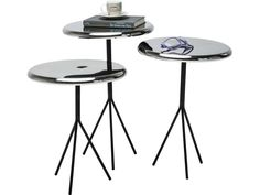 Stolik Kawowy Frisbee (3/Set) — Ławy, Stoliki kawowe — KARE® Design