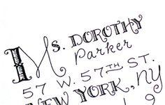 Letter+calligraphie
