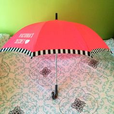 Victoria's Secret Umbrella  Brand new and super cute umbrella. Perfect for brightening up those rainy days. Victoria's Secret Accessories Umbrellas