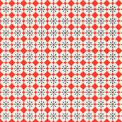 farmhouse_flowerbed_red fabric by holli_zollinger, click to view