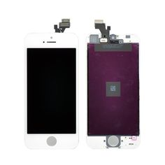 iPhone 5 LCD & Digitizer Frame Assembly - White -OEM