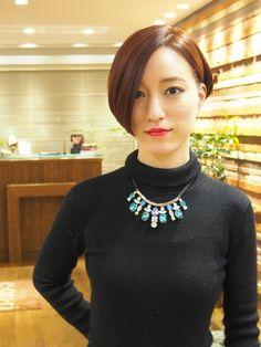 大人のクールショート | 浦和の美容室 Maisonのヘアスタイル | Rasysa(らしさ)
