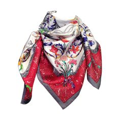 Hermes Pierres d'Orient e d'Occident | From a collection of rare vintage scarves at https://www.1stdibs.com/fashion/accessories/scarves/