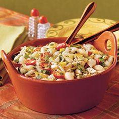 Ready-to-Serve Tailgating Recipes: Confetti Pasta Salad