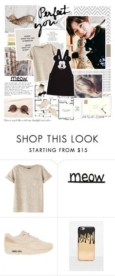 """""""Don't need to hang out with losers ... ♪"""" by followmiiin ❤ liked on Polyvore featuring A.P.C., NIKE and Missguided"""