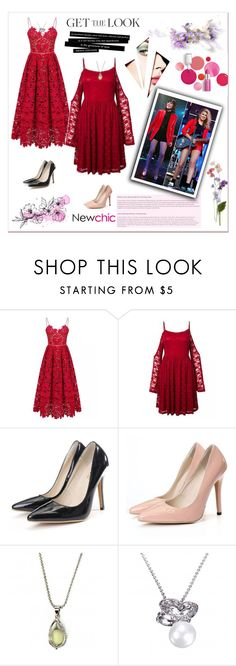 """""""#I LOVE NEWCHIC#Newchic style"""" by lovenewchic ❤ liked on Polyvore featuring Clinique, Karlsson, GetTheLook and celebritysiblings"""