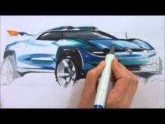Renault Alpine A 110-50 SUV Concept  202th car sketch demonstration by Sangwon Seok