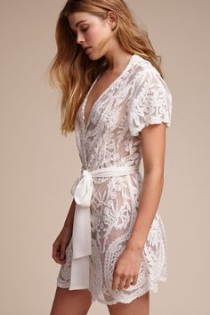 Oleya Robe in Bride Bridal Lingerie | BHLDN