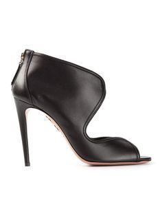AQUAZZURA 'Bianca' peep toe pumps - on Vein - getvein.com