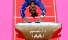 Photo #6: July 29, 2012- Brazil- gymnastics- 276x460    Daiane dos Santos of Brazil