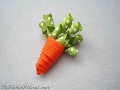 Easter Ribbon Sculptures - {The Ribbon Retreat Blog}