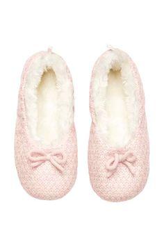 papuci tricotai hm