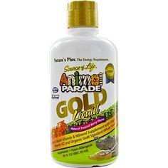 Nature's Plus, Source of Life, Animal Parade, Gold Liquid, Natural Tropical Berry Flavor, 30 fl oz (887.10 ml) - iHerb.com